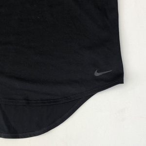 Nike Tops - Nike Elastika T Back Black Tank Top Size S